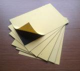 Autoadhésives feuille rigide en PVC noir pour l'album photo