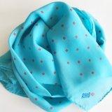 Da forma de seda do lenço do xaile da cópia de tela do poliéster xaile 100% Chiffon de seda (SC016)