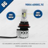 Kit automatici del faro di vendita 12V 24V 35W 6000lm 8g dell'automobile del faro caldo dell'indicatore luminoso 9004 LED