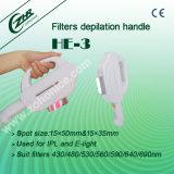 HE-3 4 Filtri Maniglia