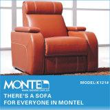 Cinema em cadeira de mobiliário