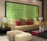 Revestimiento de madera de pared decorativo, los paneles de pared del revestimiento de madera de pared interior 3D