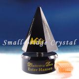 Trofeo cristalino negro (JB0087)