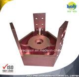 알루미늄을%s 6061/5052/2017 부품을 기계로 가공하는 정밀도 CNC