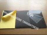 Hoja rígida auta-adhesivo negra del PVC para el álbum de foto