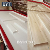 Machine chaude d'extrusion de profil de PVC de machine de presse de membrane de porte de Module de vente de Bytcnc