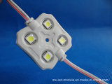 IP65 4LEDs 5050 SMD Waterproof LED Module avec lentille