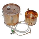 Destillierapparatmoonshine-Kupfer-Potenziometer-Fertigkeit-Bierbrauen-Gerät des Wasser-10L/3gallon