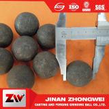 La bola de acero pulido decemento para la minería y la estación de energía