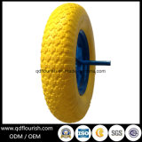 4.00-8 Pneumatico di rotella della gomma piuma dell'unità di elaborazione per la riga della barra del carrello del carrello