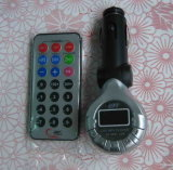 MP3 audio de voiture Transmetteur FM avec télécommande / support SD / MMC (FMT-49A)