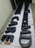 l'acciaio 3D ha fabbricato il segno illuminato e Non-Illuminato delle lettere