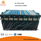 Pak van de Batterij van het Lithium van de Levenscyclus 48V 200ah van de hoge Capaciteit het Lange Ionen voor het Systeem van de ZonneMacht