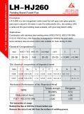 工場供給の信頼できる品質の経済的な溶かされた溶接用フラックスHj260