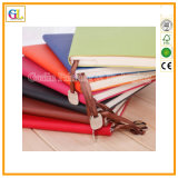 PU Leather Hard Cover Notebook com marca de livro