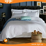 Белый хлопок Satin отель одеялом крышку (DPFB8055)