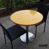 Kkrの工場価格の固体表面のレストランの家具の食卓
