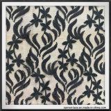 Merletto fragile del ricamo dei Sequins della maglia del fiore