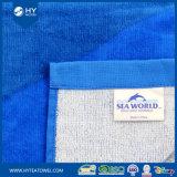 100%年の綿の大型の反応印刷された文字のビーチタオル