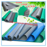 緑か黒くまたは灰色または青2-8mmの厚さのPAHs SBRのゴムシート