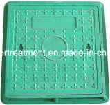GRP de plástico reforçado por fibra de vidro da tampa de inspeção compósitos SMC com a Estrutura