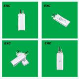 102555 de la alta calidad de alta capacidad de 3,7 voltios de ion de litio 1500mAh para el rastreador
