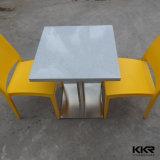 Mesa y silla de comedor de la piedra artificial del restaurante