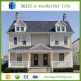 Chalet moderno modular prefabricado elegante de acero ligero de la casa de los hogares