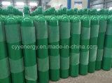 cilindro sem emenda de alta pressão do aço do nitrogênio do oxigênio do argônio 35L
