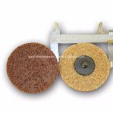 Metais ferrosos e não ferrosos a superfície da roda de polimento de nylon utilizado condicionado