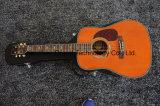 "41""Abeto macizo la parte superior de guitarra acústica con 301 Fishman recogedor (D45)."
