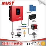 30A MPPTの太陽コントローラとの格子太陽インバーター1200va 12VDCを離れたLCD