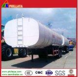 Réservoir de bitume de l'asphalte Phillaya semi-remorque pour le transport de l'asphalte de bitume