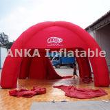 De rode Goedkope Prijs van de Tent van de Spin van de Verkoop van de Reclame Opblaasbare