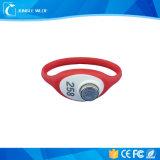 La plastica RFID TM astuto dell'ABS carda i braccialetti impermeabili del TM