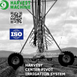 Equipo flexible agrícola de la irrigación del arma de agua del motor diesel
