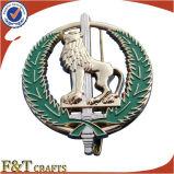 Religiosi di qualità superiore muoiono il distintivo su ordinazione militare antico dello sceriffo del getto 3D (FTBG1257A)