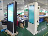 indicador ao ar livre do LCD do toque 75inch
