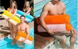 膨脹可能な浮遊ベッド、携帯用膨脹可能なプールのFoldable Loungerのシートの夏水浮遊椅子
