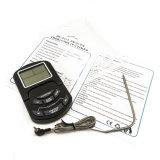 デジタル秒読みのタイマーが付いているデジタルBBQの調理用温度計