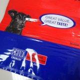 ドッグフードまたはペットフードまたは動物食糧のためのカラーによって印刷される包装袋