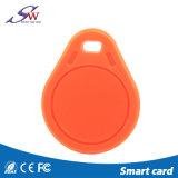 Trousseau de clés de plastique d'IDENTIFICATION RF de contrôle d'accès de porte