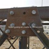 Tour en acier galvanisée de trellis de cornière