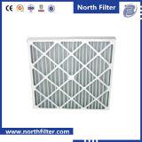 Воздушный фильтр синтетического волокна рамки картона устранимый