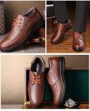 2018 Nouvelle arrivée à la mode des chaussures occasionnel de gros souliers en cuir