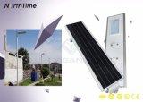 Intenses lampes solaires de route du luminosité DEL de contrôleur sec imperméable à l'eau de MPPT