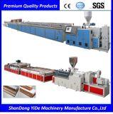 Le panneau de construction de WPC (pp, PE, PVC+Wood) expulsent machine