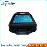 4G Scanner PDA van de Streepjescode van de Streepjescode van de Vraag van de Stem van de telefoon 1d de 2D Androïde Terminal