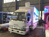 Vrachtwagen van de Reclame van het hoge LEIDENE van Isuzu van de Helderheid P8 Scherm van de Vertoning de Mobiele voor Verkoop