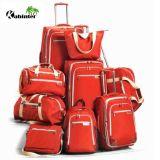 Manufactory stabilito dei bagagli delle valigie del sacchetto di corsa del sacchetto dei bagagli dei bagagli del carrello